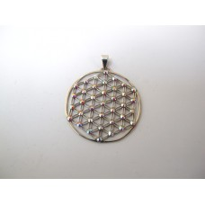 Flower of life hanger opaliet
