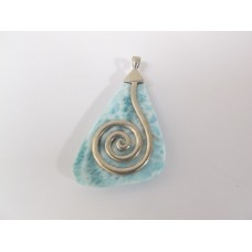 "Larimar hanger ""best of"" druppel by Blue Stone"