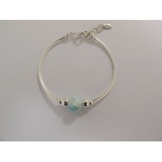 "Larimar armband ""luxury"""