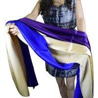 Tachyon sjaal, zijde