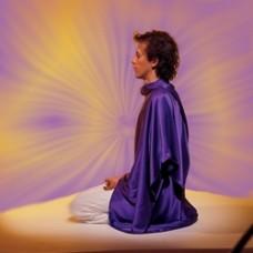 Tachyon meditatiedoek van pure zijde